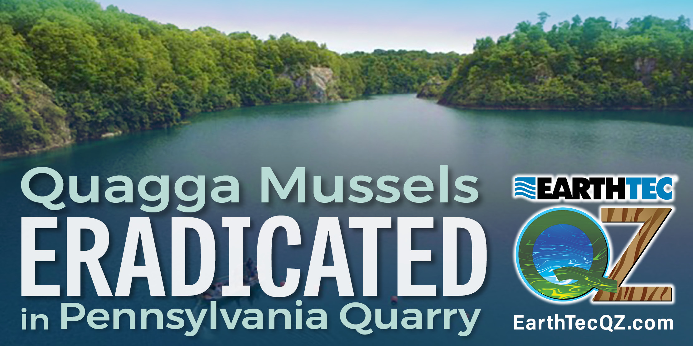 Quagga Mussel Eradication Confirmed in Historic Pennsylvania Quarry